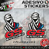 Adesivi / Stickers DAKAR PARIS BMW GS ENDURO ADVENTURE WORLD MAP 2.PZ H.QUALITY!