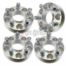 """4x 1.25"""" Ford Wheel Spacers Fits Mustang Ranger Explorer Sport Trac Hubcentric"""