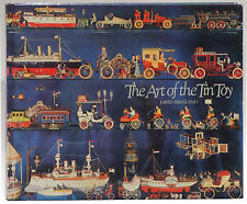 The Art of the Tin Toy by David Pressland 1976 first edition trademarks trains