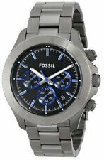 Fossil Stainless Steel Case Wristwatches with 12-Hour Dial