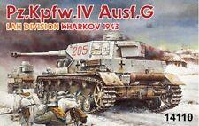 TWO DRAGON MODELS 1:144 MINI ARMOR GERMAN LAH PANZER IV Ausf G MODEL KIT #14110