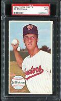 1964 Topps Giants #27 ED BRINKMAN Washington Senators PSA 7 NM