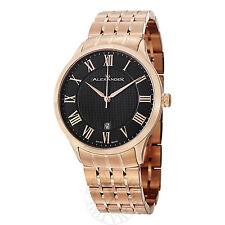 Alexander Men's A103B-04 Statesman Triumph Goldtone Bracelet Swiss Quartz Watch