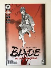 BLADE OF THE IMMORTAL #40 Dark Horse Comics Heart of Darkness 6/8 1999 Manga NM