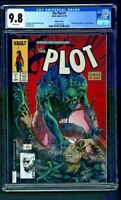 The Plot #1 CGC 9.8 Variant Cover F Unknown Comics Exclusive Creees Lee Cover