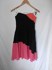 FOREVER NEW, SIZE 10, BNWT, RRP $129, SILK, COLOUR BLOCK, PENNY PROM DRESS