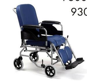 sedia a rotelle Vermeiren con 4 Ruote da 20 cm Larghezza Seduta: 46 cm
