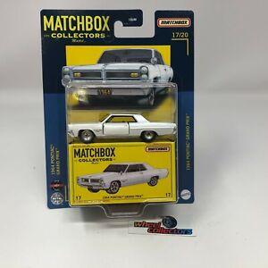1964 Pontiac Grand Prix * 2021 Matchbox COLLECTORS Case K