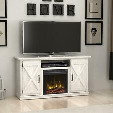 """Electric Fireplace TV Stand Media Storage Television Console Shelves for 55"""" TV"""