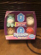Squishmallows-Squishville Bundle-Sealife Squad-Brand New
