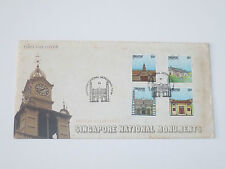Singapore Stamps First Day Cover FDC - 1984 National Monuments
