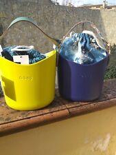 O Bag originale Borsa Secchiello viola blu