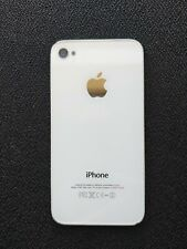 Tapa trasera iPhone 4s blanca Original white Back cover