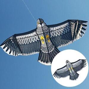 Flying Kite Bird Hawk Eagle Garden Yard Land Pest Scarecrow  Repellent  UK