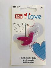 PRYM LOVE NEEDLE THREADER - BIRDY