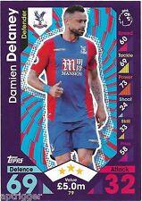 2016 / 2017 EPL Match Attax Base Card (79) Damien DELANEY Crystal Palace