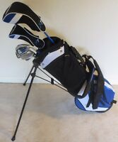 NEW Junior Boys Golf Club Set with Jr. Stand Bag for Children Kids Ages 8-12