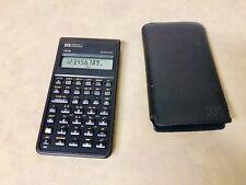 Hewlett Packard Hp-10B Vtg Business Financial Calculator Fully Tested Brown
