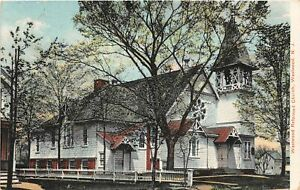H78/ Westwood New Jersey Postcard c1910 Reformed Church Building 134