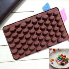 Coffee Beans Chocolate Candy Silicone Bakeware Mould Sugarpaste Cake Mold C