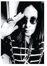 OZZY OSBOURNE  POSTER. Black Sabbath.