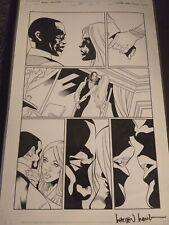 Black Panther Storm Original Art Page