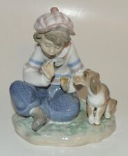 Lladro 5450 I Hope She Does - Mint Condition Matte Finish Flower missing