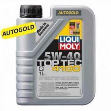 LIQUI MOLY 5W-40 TopTec 4100 olio BMW Longlife-04 Ford  MB 229.31 Porsche A40