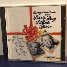 DORIS DAY DINAH SHORE MERRY CHRISTMAS CD 1992 LASERLIGHT DIGITAL NEW DELTA MUSIC
