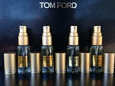 4 X TOM FORD TOBACCO VANILLE+OUD WOOD+TUSCAN LEATHER+NOIR DE NOIR
