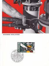 Liechtenstein 1984 Men and Occupations Maxim Card Set Mint in Original Envelope