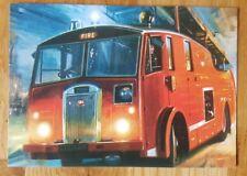 Dennis Fire Engine Postcard Vintage Ad Galllery COD39APC MINT unused unposted