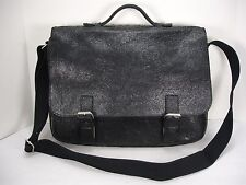NWT DAAG JAZZY WANTED 24 DISTRESSED LEATHER SHOULDER BAG BRIEFCASE LAPTOP BAG