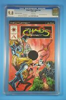 The Chaos Effect Alpha Red Variant Cover CGC 9.8 Valiant Comics 1994 CEAR