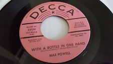 Max Powell - Night Clubs Movies And Friends Nm- 1967 Promo Decca Country 17.8cm