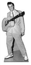 Elvis Presley Guitar Around Neck Lifesize Cardboard Cutout Standee Poster Prop