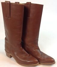 Woman's size 9. 5 Frye boots, great condition, brown Leather, Vintage