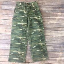 John Deere Camo Cargo Pants Sz. 10 Boys 100% Cotton L01