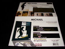 MICHAEL JACKSON BIOGRAPHY!!!!!!!!!RARE FRENCH PRESS/KIT