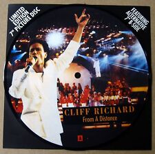 "Cliff Richard - From A Distance  - 7"" Picture Disc - UK - 1990 - NEW"