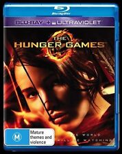 The Hunger Games (Blu-ray, 2013) New, ExRetail Stock (D140)