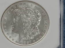 1887-P Morgan Silver Dollar Brilliant Uncirculated B7950