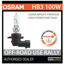 69005SBP OSRAM HB3 (9005) 100W SUPER LUMINOSI Premium OFF-ROAD Rally Lampadina (x1)