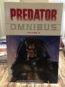 Predator Omnibus Vol 2 First Edition Dark Horse comics graphic novel TPB