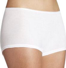 Hanro Womens Soft Stretch Modal Boyshorts Underwear White Size Small