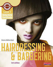 Level 1 (NVQ/SVQ) Certificate in Hairdressing and Barbering Candidate-ExLibrary