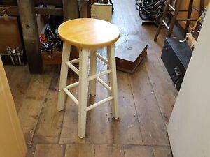 "24"" Wooden Stool w 13"" Seat 34813"