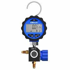 Elitech Smg 1l Refrigeration Hvac Digital Pressure Gauge Single Manifold Gauge