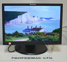 """LENOVO L1940 MONITOR 19"""" LCD Widescreen da 1440 x 900 DVI VGA GARANZIA di 16:10"""