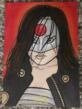 Katana Sketch card Mai Irving Artist Auto CZX DC Super Heroes & Villains 2019